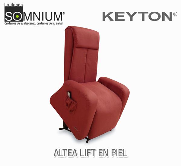 Sillones relax de alto confort keyton en la tienda somnium for Sillones piel confort